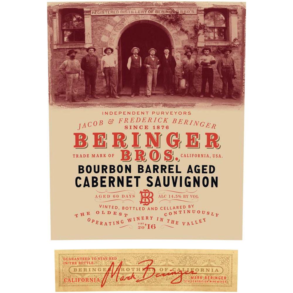 Beringer Bros. 2016 Bourbon Barrel Aged Cabernet Sauvignon - Red Wine