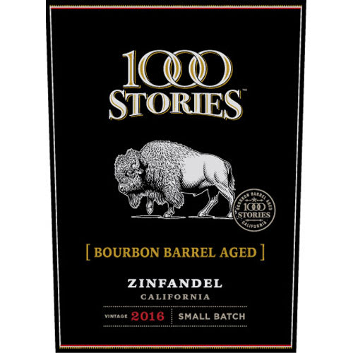 1000 Stories 2016 Bourbon Barrel Aged Zinfandel - Red Wine