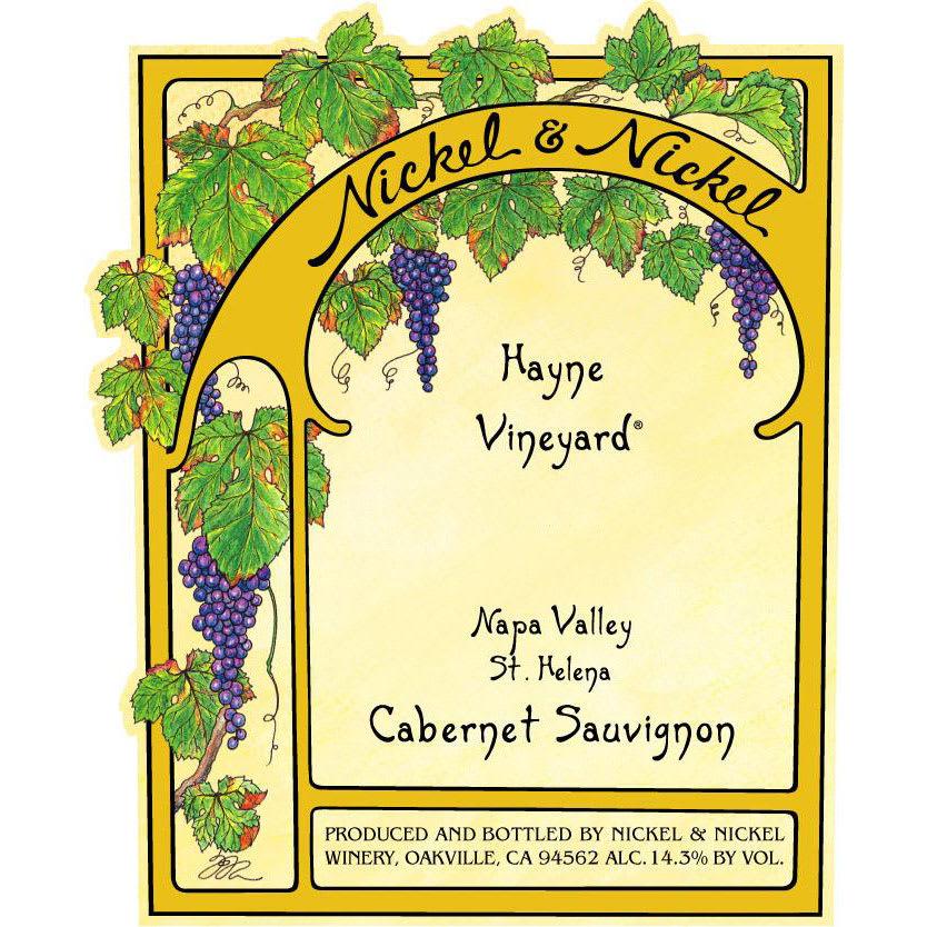 Nickel & Nickel 2015 Hayne Cabernet Sauvignon - Red Wine