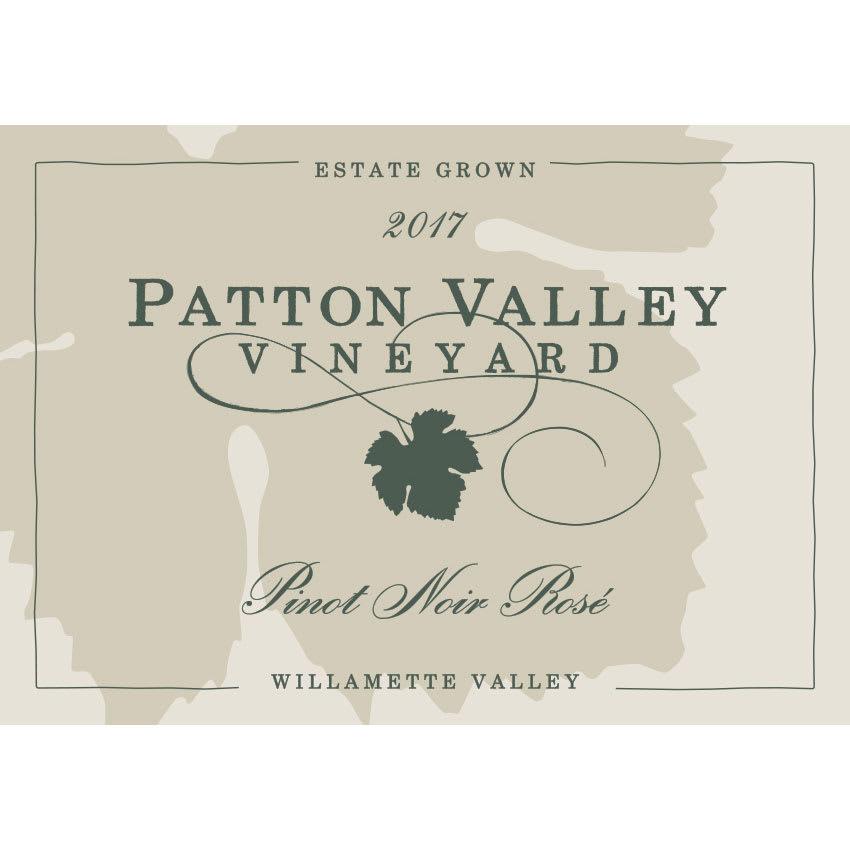 Patton Valley 2017 Pinot Noir Rose - Rosé Rosé Wine