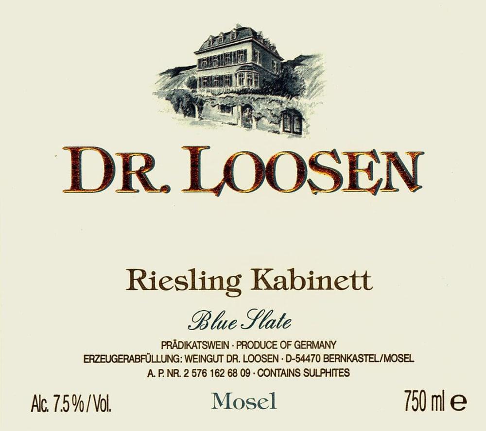 Doctor Loosen 2017 Blue Slate Estate Kabinett - Riesling White Wine