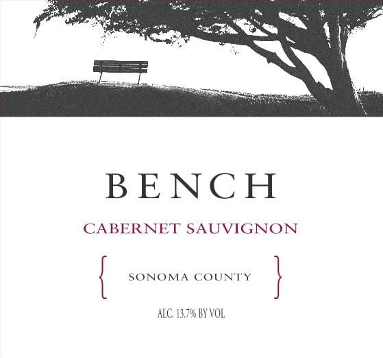 Bench 2017 Sonoma Cabernet Sauvignon - Red Wine