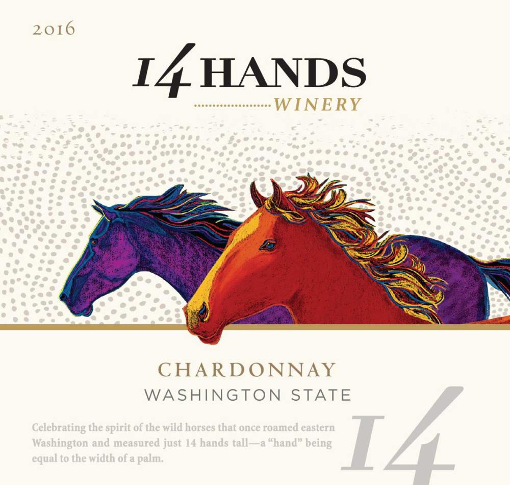 14 Hands 2016 Chardonnay - White Wine