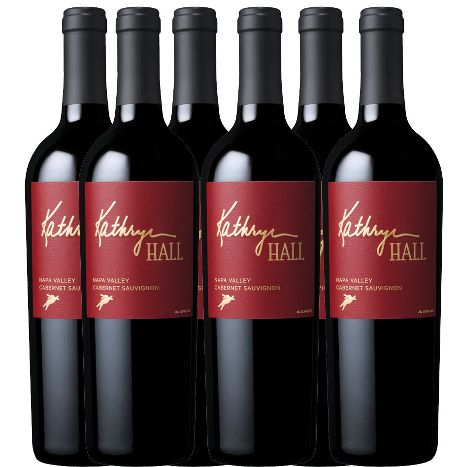 Kathryn Hall Cabernet Sauvignon 6-Pack + BONUS Book - Wine Collection Gift
