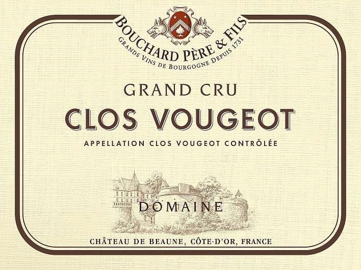 Bouchard Pere & Fils 2015 Clos Vougeot Grand Cru - Pinot Noir Red Wine
