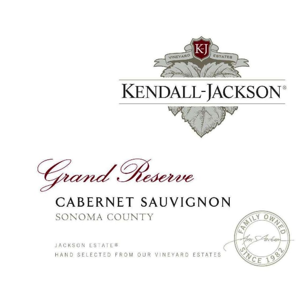 Kendall-Jackson 2016 Grand Reserve Cabernet Sauvignon - Red Wine