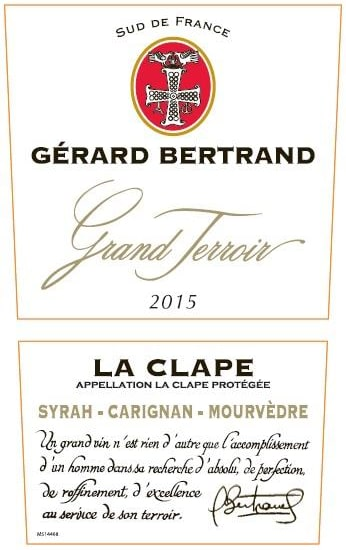 Gerard Bertrand 2015 Grand Terroir La Clape - Rhone Blends Red Wine