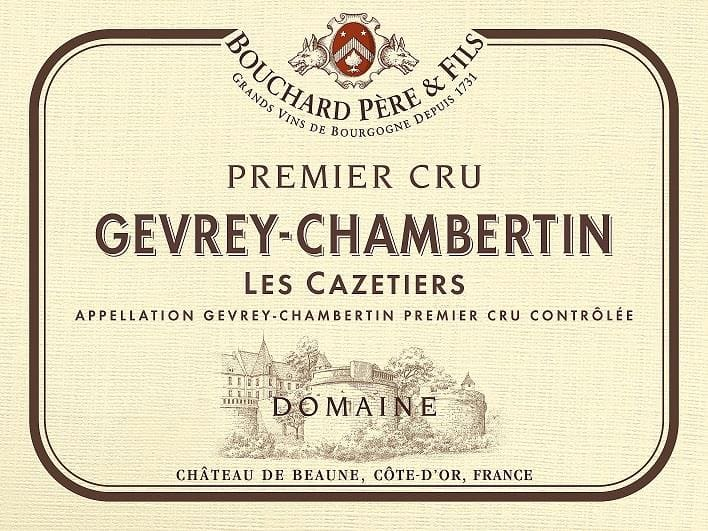 Bouchard Pere & Fils 2011 Gevrey-Chambertin Les Cazetiers Premier Cru - Pinot Noir Red Wine