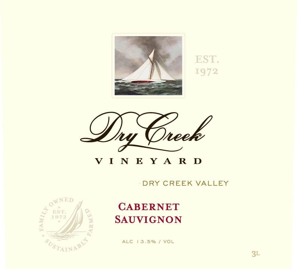 Dry Creek Vineyard 2016 Cabernet Sauvignon (375ML half-bottle) - Red Wine