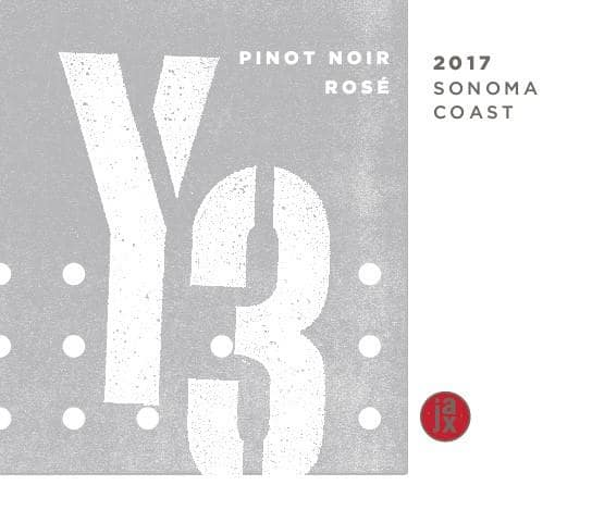 Jax Vineyards 2017 Y3 Rose of Pinot Noir - Rosé Rosé Wine