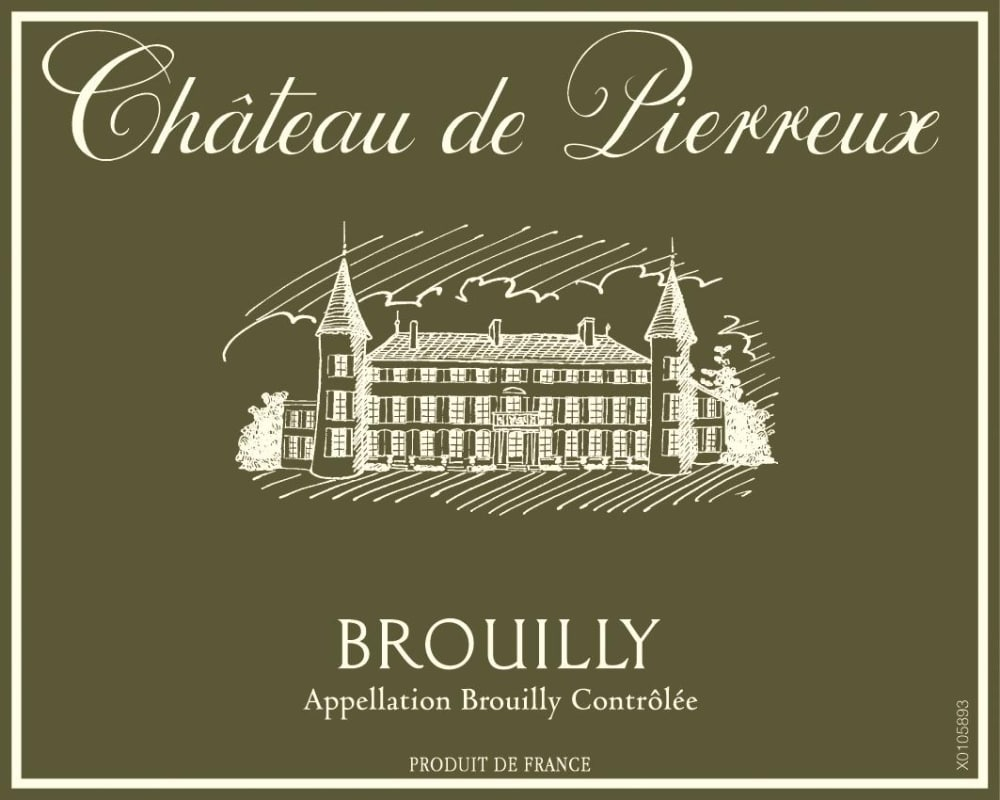 Chateau de Pierreux 2016 Brouilly - Gamay Red Wine