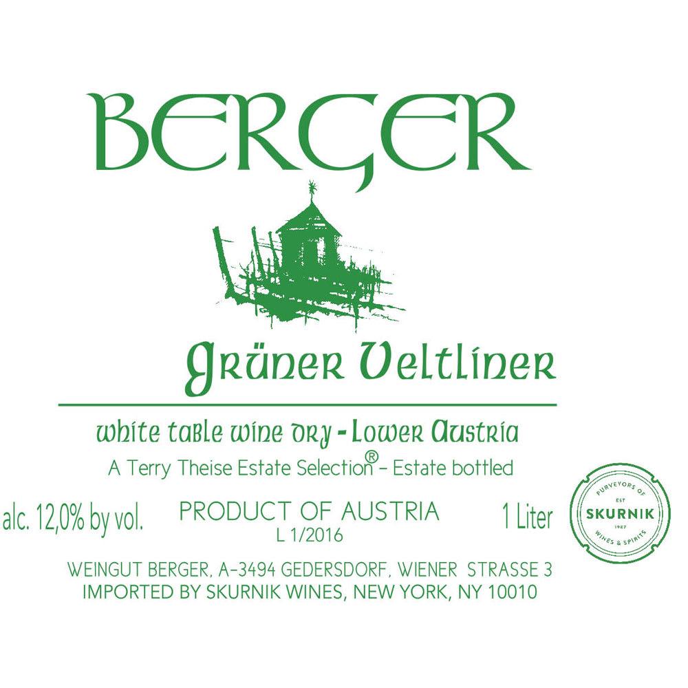 Berger grüner Veltliner