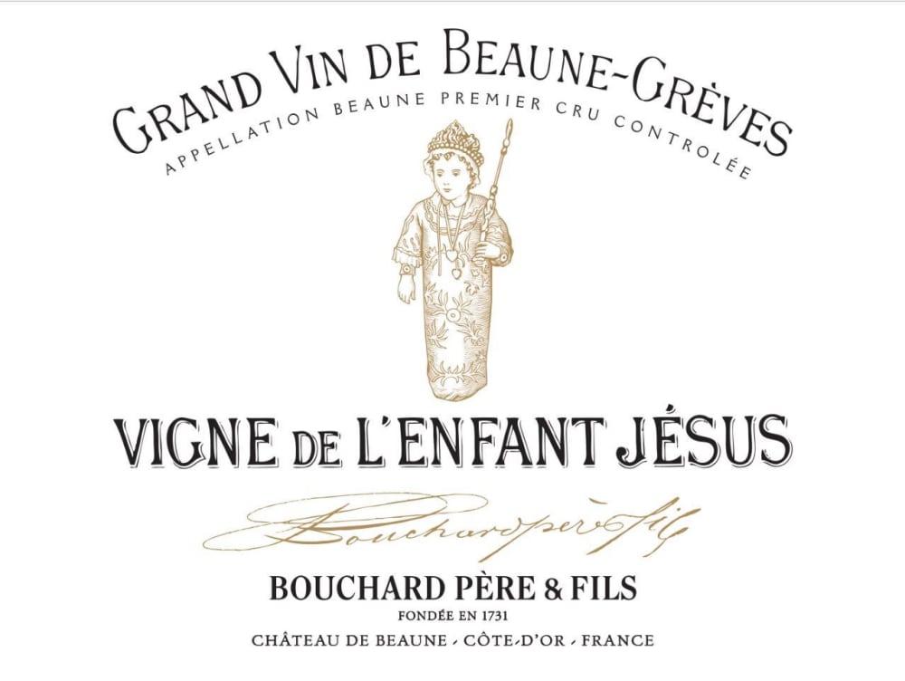 Bouchard Pere & Fils 2016 Beaune Greves Premier Cru Vigne de l'Enfant Jesus - Pinot Noir Red Wine