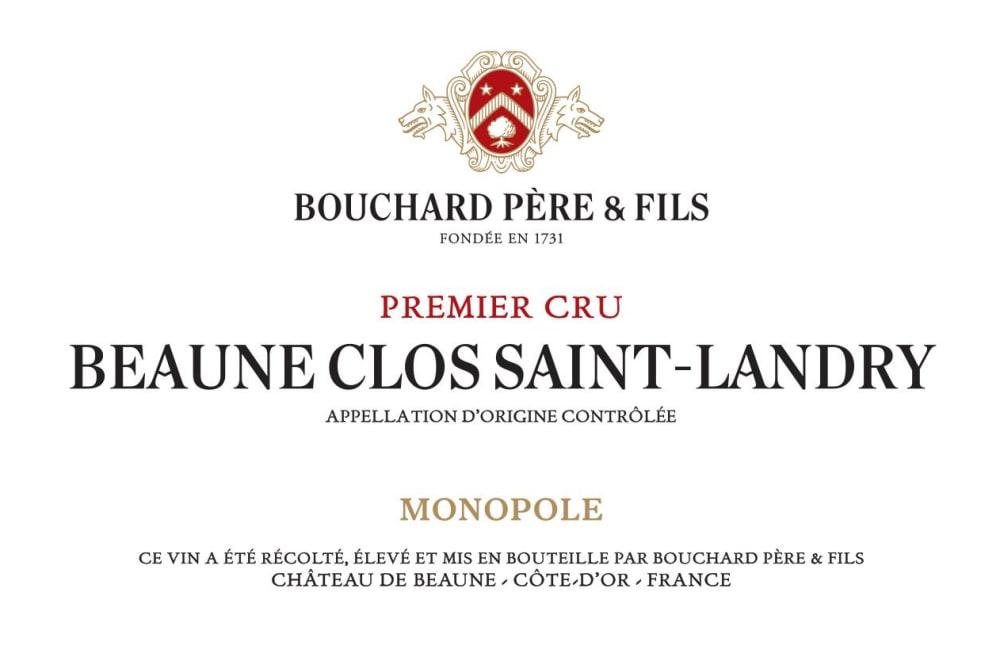 Bouchard Pere & Fils 2017 Beaune Clos St-Landry Premier Cru Blanc - Chardonnay White Wine