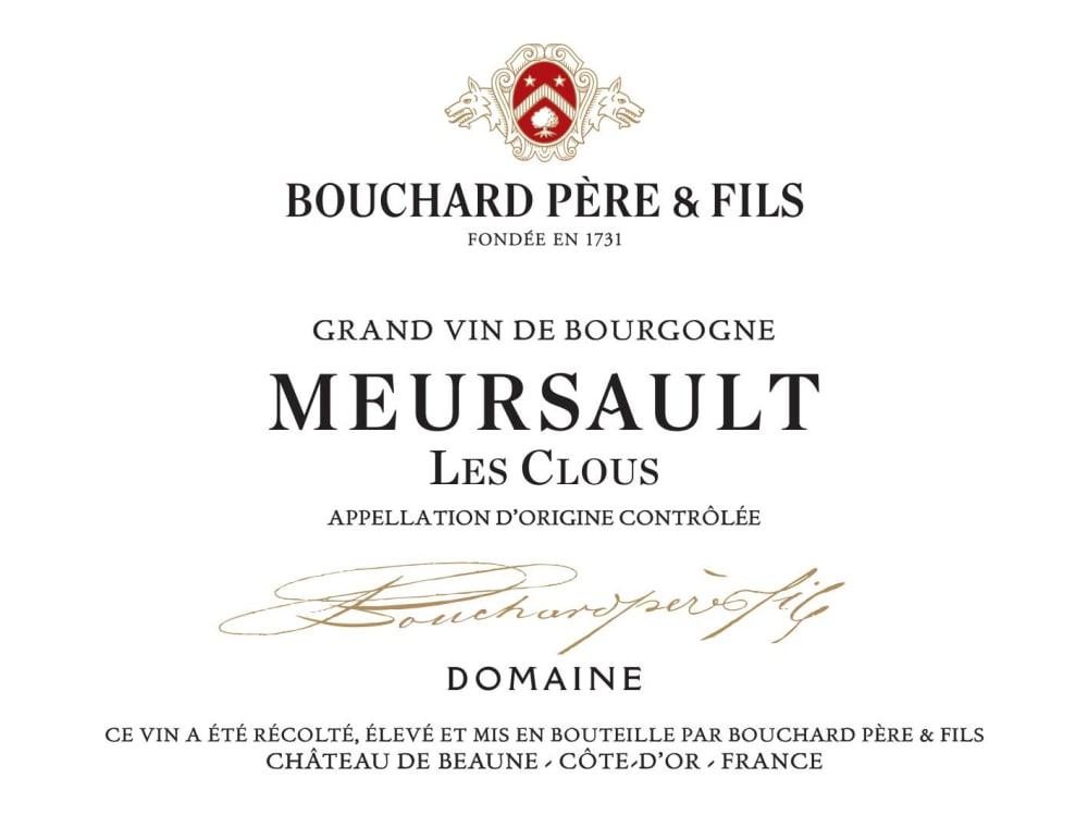 Bouchard Pere & Fils 2017 Meursault Les Clous - Chardonnay White Wine