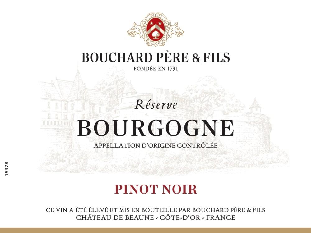 Bouchard Pere & Fils 2018 Reserve Bourgogne Pinot Noir - Red Wine