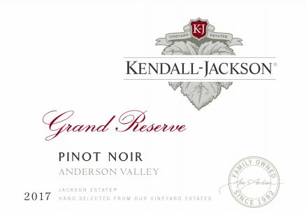 Kendall-Jackson 2017 Grand Reserve Pinot Noir - Red Wine