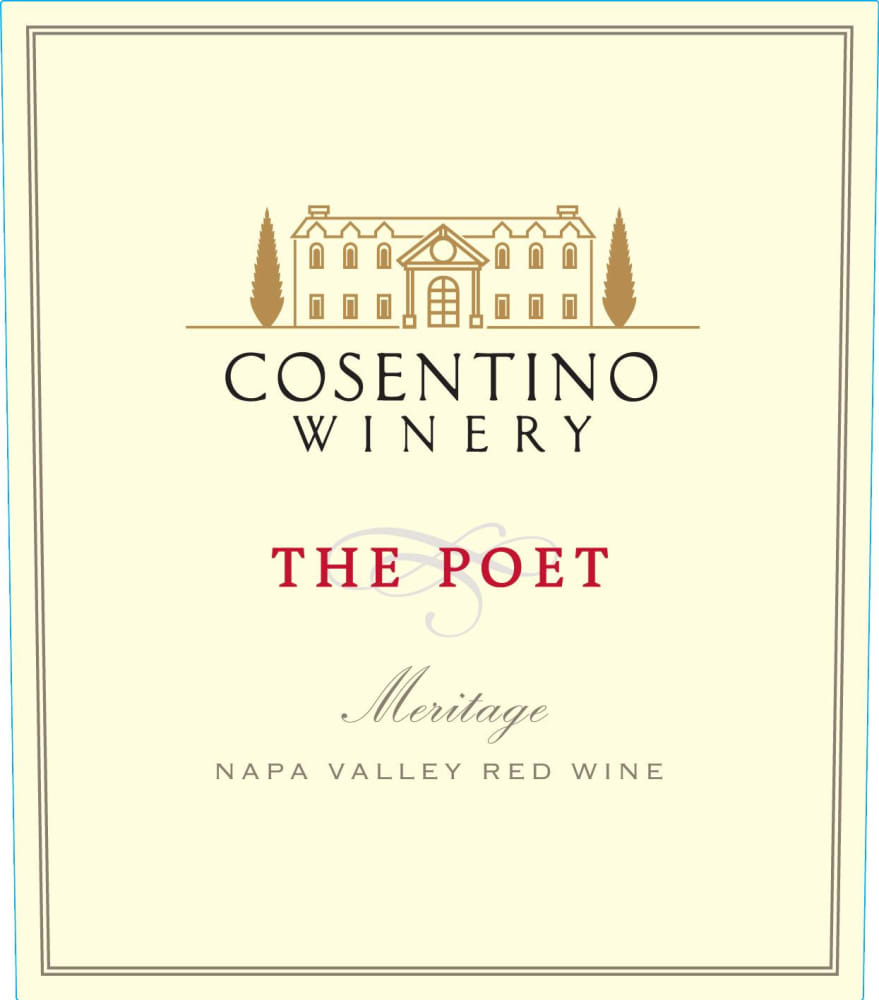 Cosentino 2016 Poet Red Meritage - Bordeaux Blends Red Wine