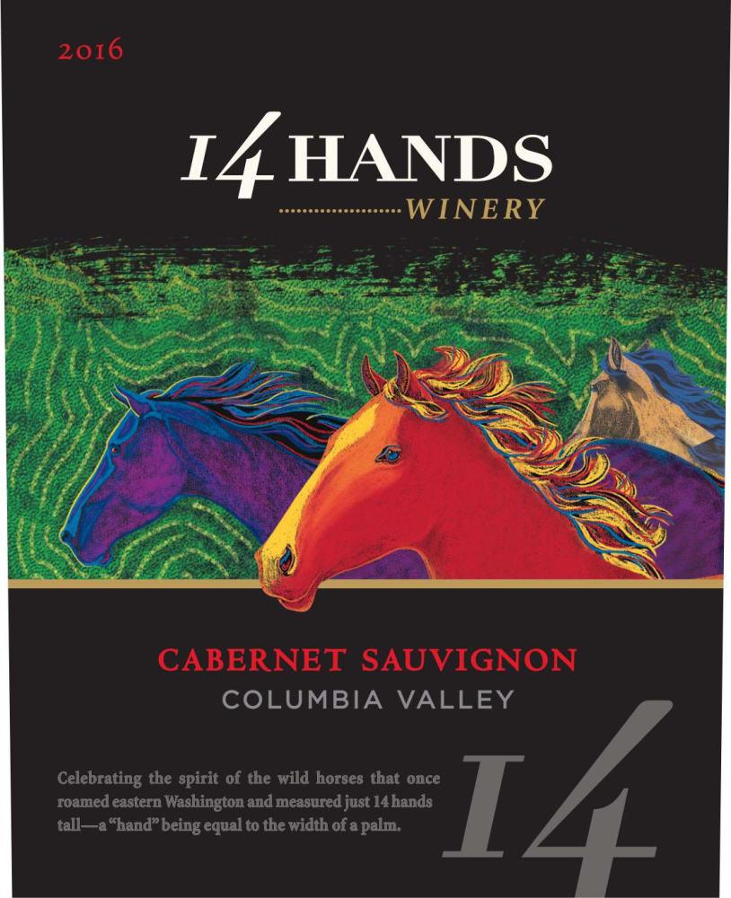 14 Hands 2016 Cabernet Sauvignon - Red Wine