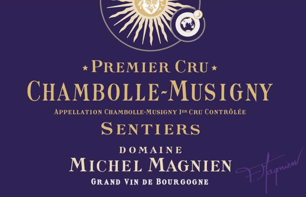 Michel Magnien 2016 Chambolle Musigny les Sentiers Premier Cru - Pinot Noir Red Wine