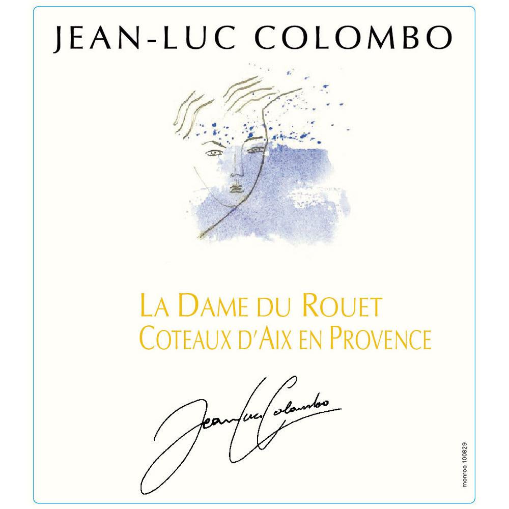 Jean-Luc Colombo 2017 La Dame Du Rouet Rose - Rosé Rosé Wine
