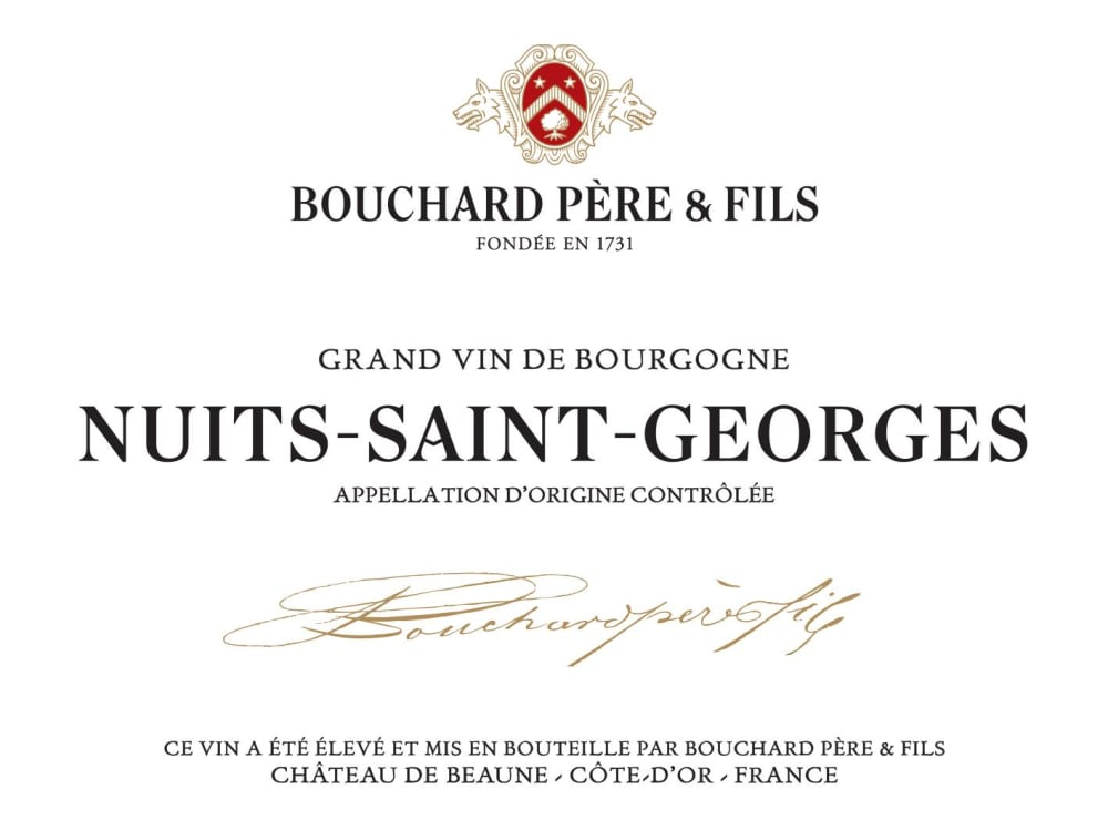 Bouchard Pere & Fils 2016 Nuits-St-Georges - Pinot Noir Red Wine