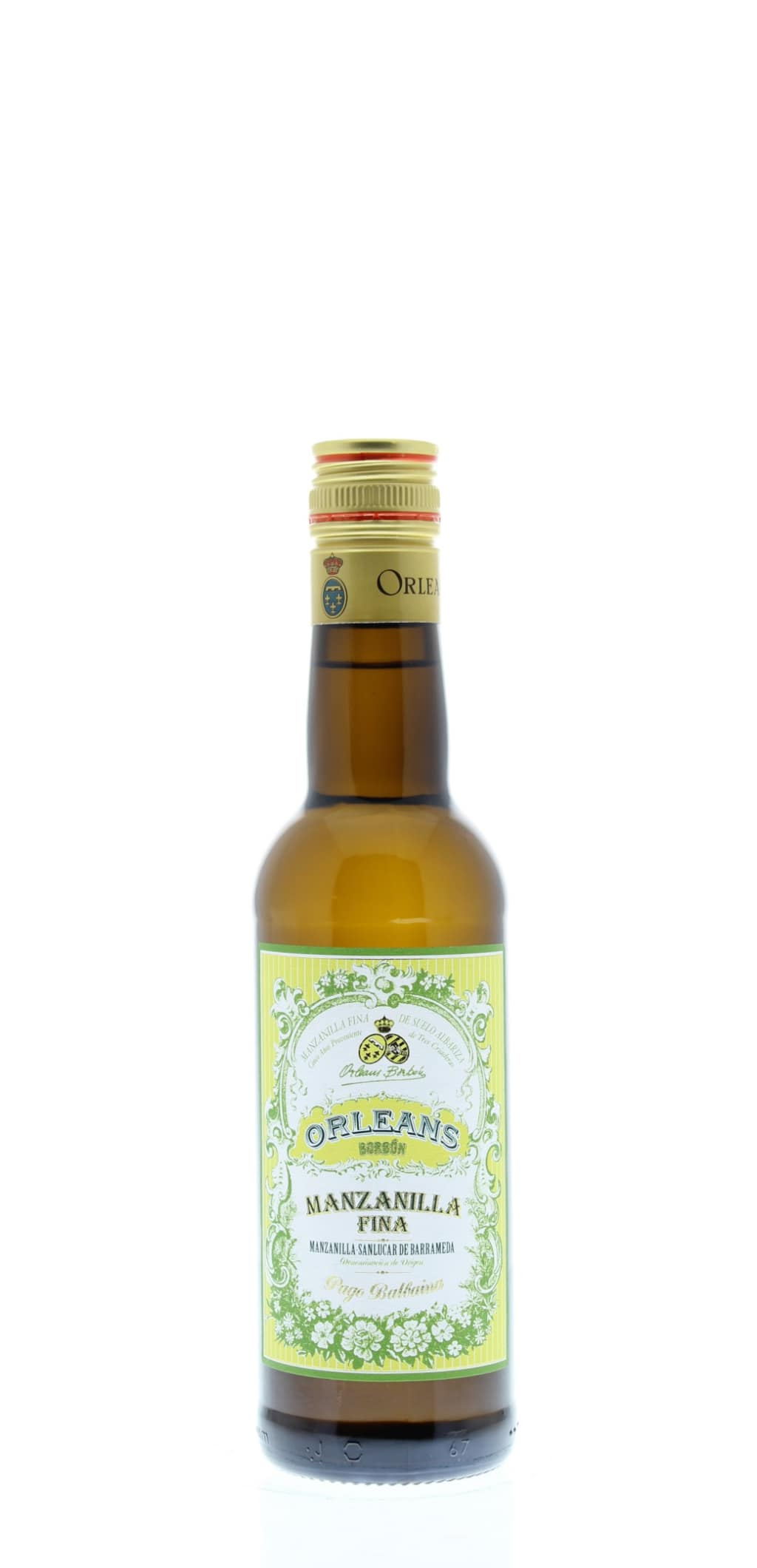 Orleans Borbon Manzanilla Sherry (375ML half-bottle)