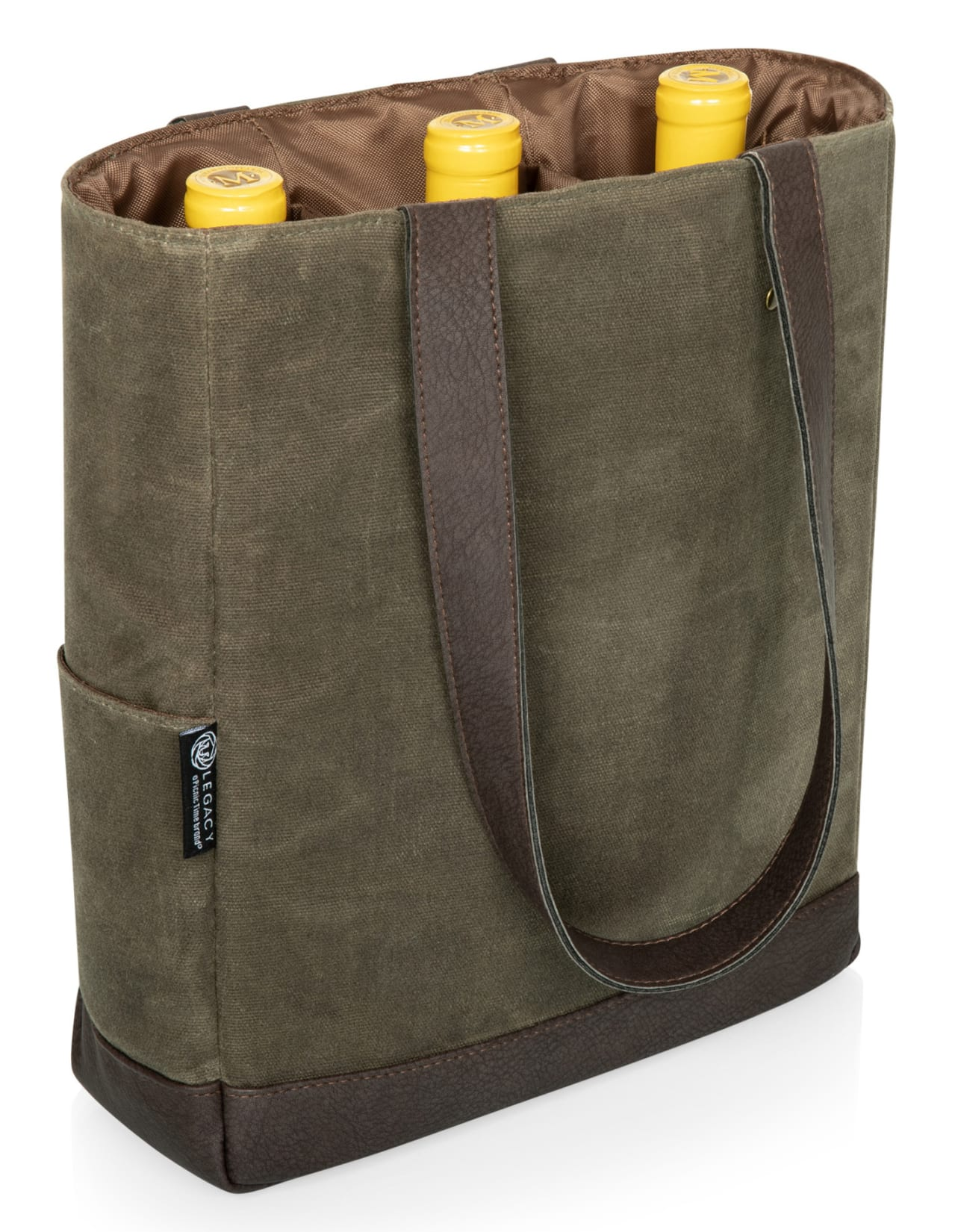 Legacy 3 Bottle Insulated Wine Cooler Bag