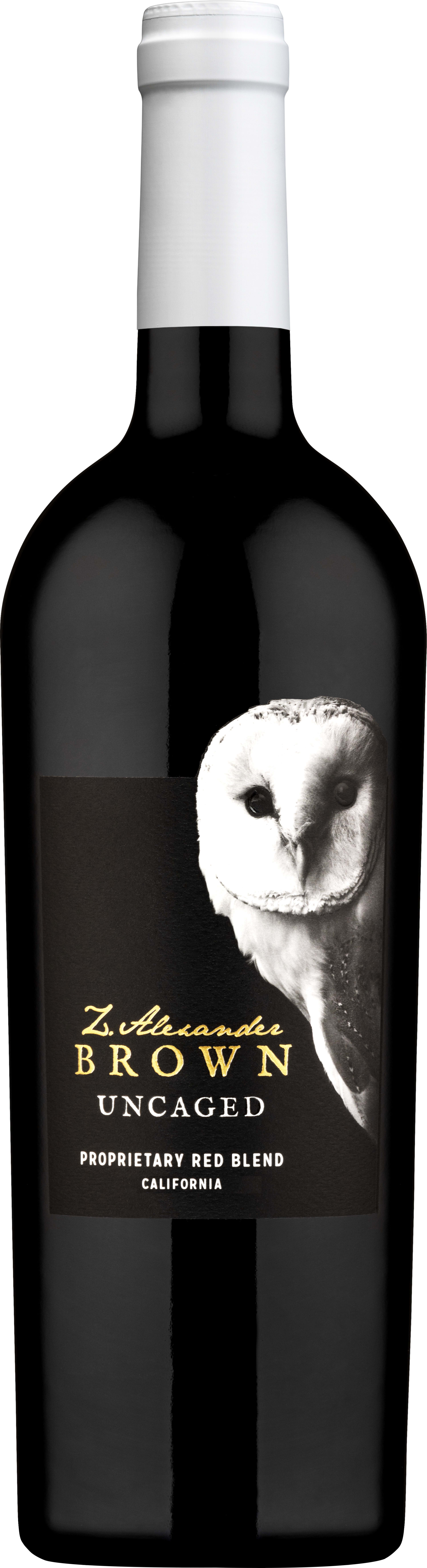 Z. Alexander Brown Uncaged Red Blend 2017