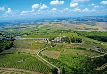 Conti Costanti Aerial View of Conti Costanti Winery Image
