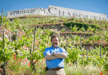 M. Chapoutier Michel Chapoutier at Ermitage Winery Image