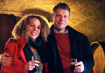 Marcel Lapierre Winemakers Camille and Mathieu Lapierre Winery Image