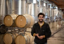 Angela Vineyards Winemaker Alban Debeaulieu Winery Image