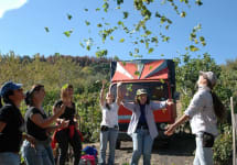 Tenuta delle Terre Nere Celebrating a Successful Harvest Winery Image