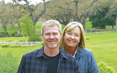 Fess Parker Tim Snider & Ashley Parker Snider Winery Image