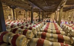 The Hess Collection Barrel Chai  Winery Image