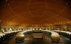 Clos Apalta Wine Barrels Winery Image