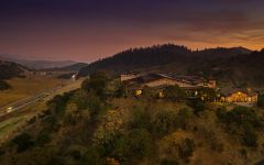 Silverado Vineyards Stag's Leap District at Sunset Winery Image