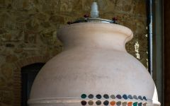 Duemani Cocciopesto and Amphorae Jars Winery Image
