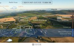 Cristom Vineyards Cristom's Estate Vineyard Map Winery Image