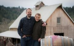 Big Table Farm Owners Brian Marcy and Clare Carver Winery Image