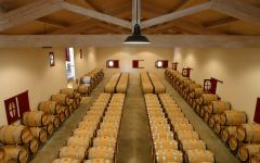 Chateau Haut-Bailly Barrel Room Winery Image
