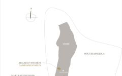 Lapostolle Map of Lapostolle Vineyards Winery Image