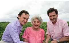 Chateau Clerc Milon Baroness Philippine with her Sons Winery Image