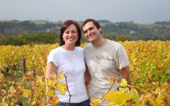 Domaine Vincent Careme Owners Vincent and Tania Carême Winery Image