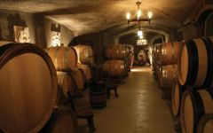Domaine Ferret Cellar Barrels Winery Image
