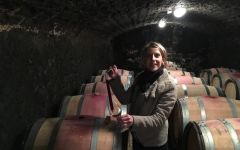 Domaine de l'Arlot Geraldine Godot, Owner and Winemaker Winery Image