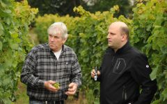 Dr Pauly-Bergweiler Stefan Pauly and winemaker Edmund Licht Winery Image