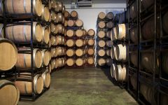 Bodegas Volver Bodegas Volver Barrel Room Winery Image