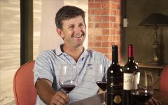 Ernie Els Winemaker Louis Strydom Winery Image
